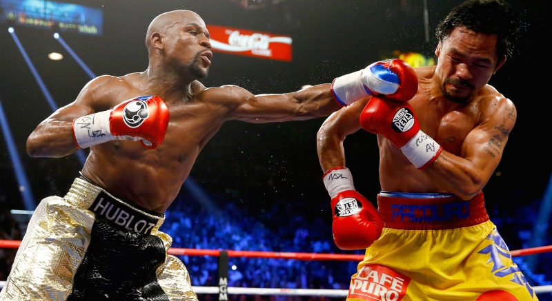Floyd Mayweather Jr. v Manny Pacquiao