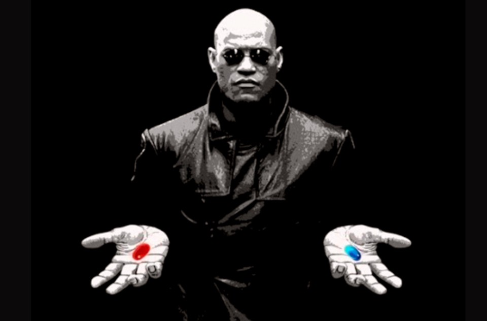 Beyond the Red Pill and the Blue Pill - Andrew Sweeny - Medium