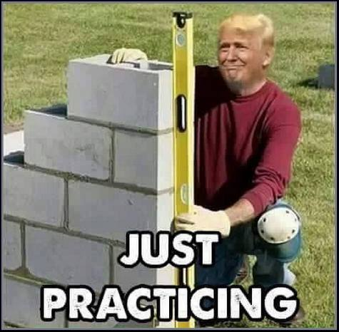 donald-trump-the-wall-just-practicing