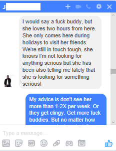 Fuck buddy meaning
